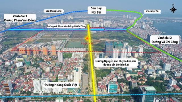 """Đường 8 làn tạm thông: Kết nối vùng hanh thông, bất động sản """"tăng tốc"""" - 2"""