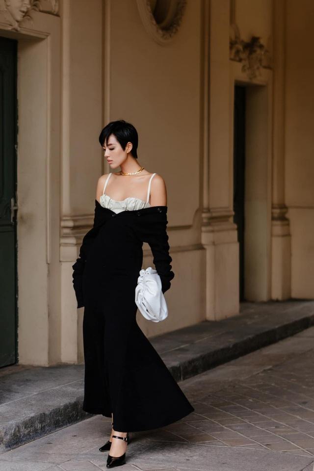 Châu Bùi, Khánh Linh: 2 fashionista Việt ghi dấu ấn tại thánh địa thời trang Paris, Milan - 9