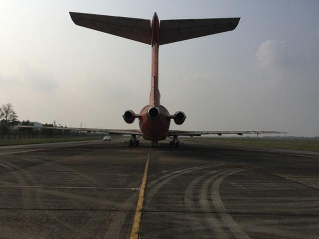 """Cục Hàng không tiếp nhận đề nghị """"đổi bánh, kẹo lấy máy bay"""" Boeing 727 tại Nội Bài - 2"""