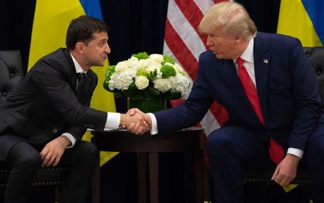 """Tổng thống Ukraine lên tiếng """"thanh minh"""" giúp ông Trump - 1"""