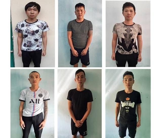 Vụ nhóm thanh niên chém công an: Tạm giữ thêm 6 đối tượng - 1