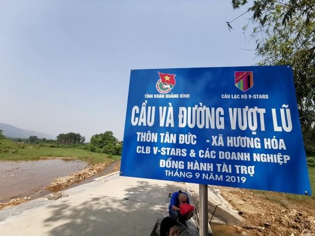 Dàn sao quyên góp xây cầu vượt lũ Quảng Bình - 2