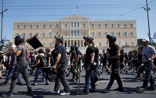 Đình công trên khắp Hy Lạp phản đối dự luật cải cách lao động - 1