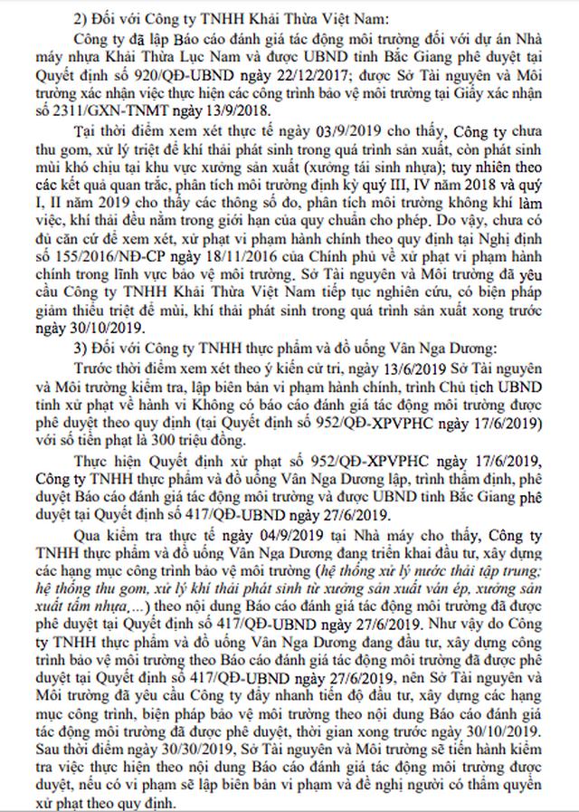 Không phạt doanh nghiệp Trung Quốc gây ô nhiễm bằng lý do hài hước tại Bắc Giang - 6