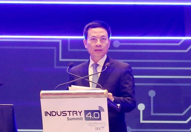 Bộ trưởng Nguyễn Mạnh Hùng: Việt Nam sẽ là nước phát triển nếu bắt kịp CMCN 4.0 - 1
