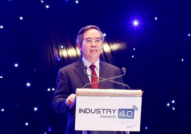 Bộ trưởng Nguyễn Mạnh Hùng: Việt Nam sẽ là nước phát triển nếu bắt kịp CMCN 4.0 - 2
