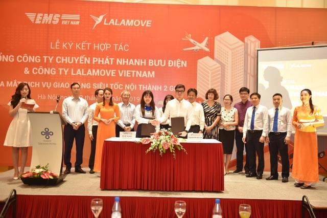 EMS hợp tác với Lalamove Việt Nam triển khai dịch vụ Giao hàng siêu tốc - 1