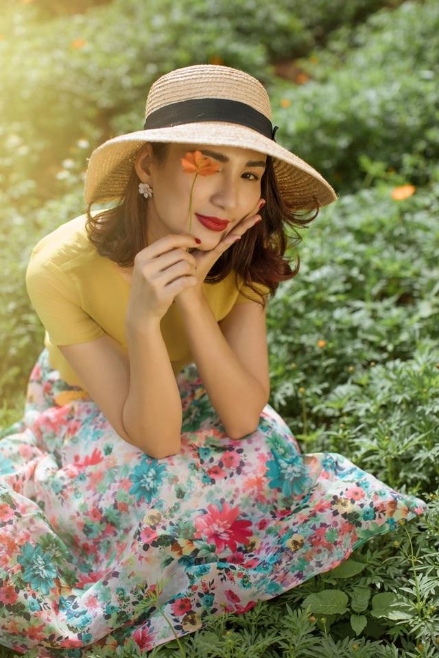 Vẻ trẻ trung của Hoa hậu Ngọc Diễm   - 1