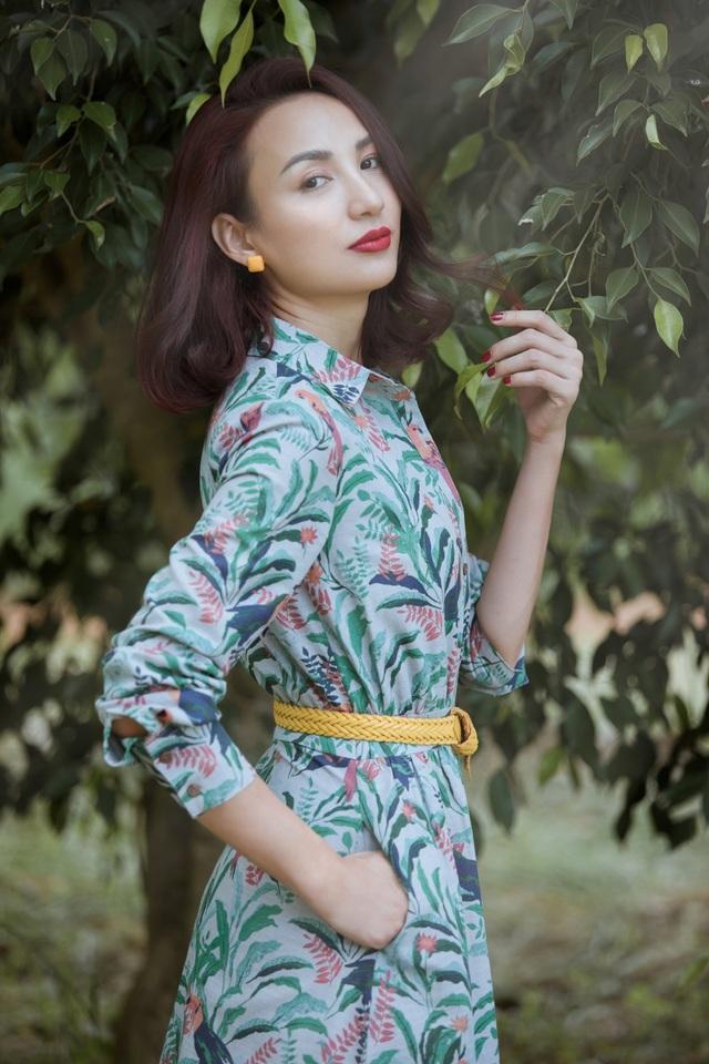 Vẻ trẻ trung của Hoa hậu Ngọc Diễm   - 5