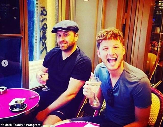 Thành viên nhóm Westlife và bạn trai đồng tính lên chức bố - 4