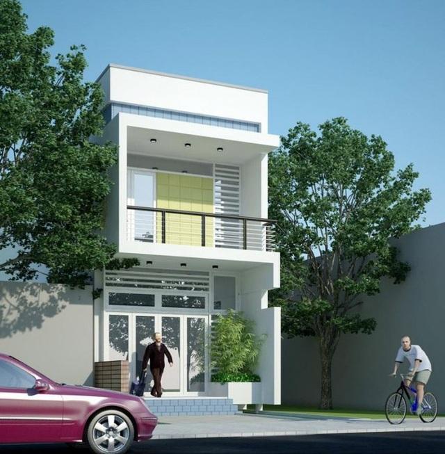 Mẫu nhà phố 2 tầng tuyệt đẹp cho khu đất mặt tiền hẹp - 3