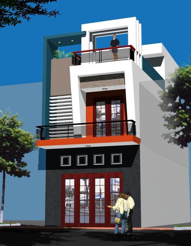 Mẫu nhà phố 2 tầng tuyệt đẹp cho khu đất mặt tiền hẹp - 4