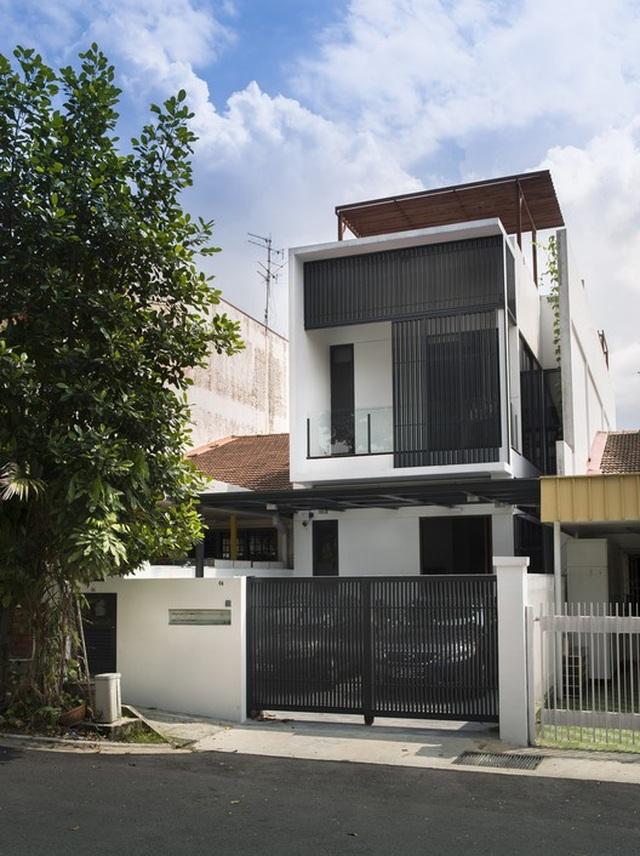 Mẫu nhà phố 2 tầng tuyệt đẹp cho khu đất mặt tiền hẹp - 5