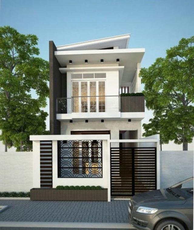 Mẫu nhà phố 2 tầng tuyệt đẹp cho khu đất mặt tiền hẹp - 7