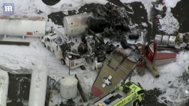 """""""Pháo đài bay"""" B-17 của Mỹ gặp nạn, 7 người chết - 7"""