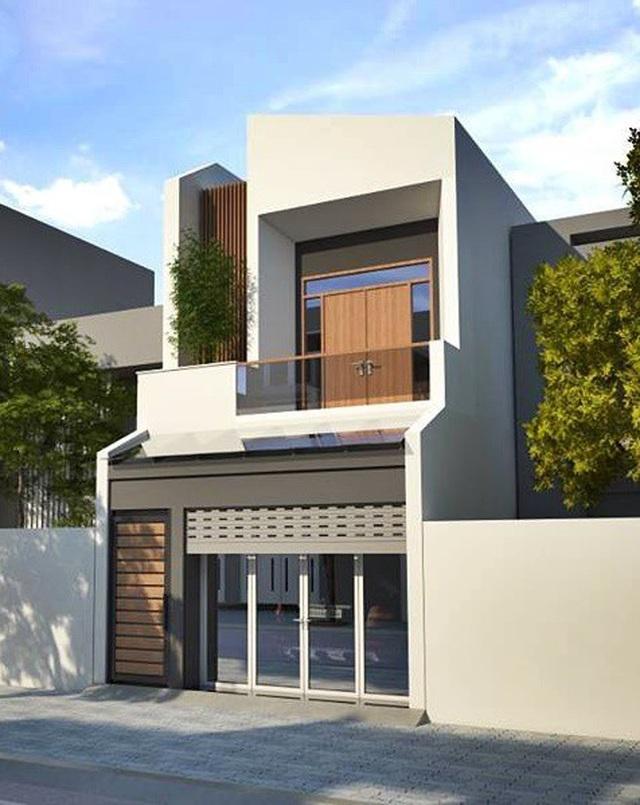 Mẫu nhà phố 2 tầng tuyệt đẹp cho khu đất mặt tiền hẹp - 2