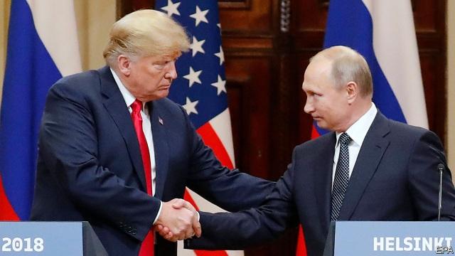 Ông Putin nói đùa sẽ can thiệp vào bầu cử tổng thống Mỹ 2020 - 1