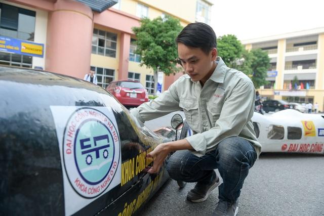 Sinh viên tự chế xe siêu tiết kiệm chạy 1.095 km tốn một lít xăng - 10