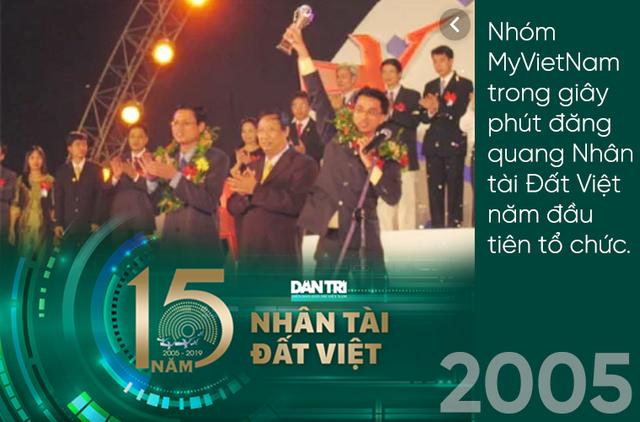 Giải thưởng Nhân tài Đất Việt lan toả, thắp sáng mầm cây tương lai suốt gần hai thập kỷ - 1