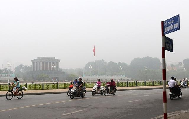 Tổng cục Môi trường: Chất lượng không khí Hà Nội cải thiện hơn sau mưa lớn - 1