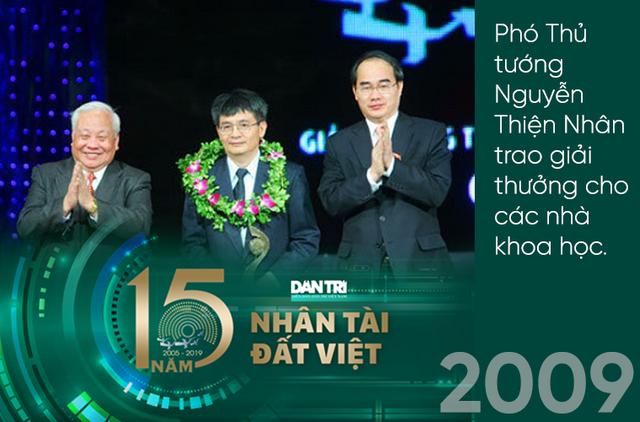 Giải thưởng Nhân tài Đất Việt lan toả, thắp sáng mầm cây tương lai suốt gần hai thập kỷ - 2