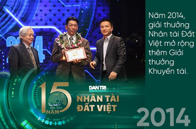 Giải thưởng Nhân tài Đất Việt lan toả, thắp sáng mầm cây tương lai suốt gần hai thập kỷ - 4