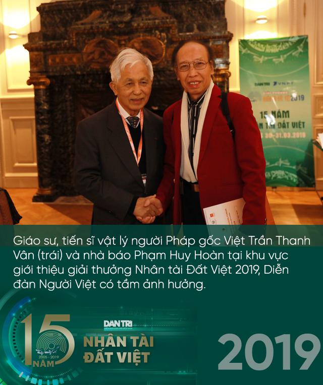 Giải thưởng Nhân tài Đất Việt lan toả, thắp sáng mầm cây tương lai suốt gần hai thập kỷ - 5