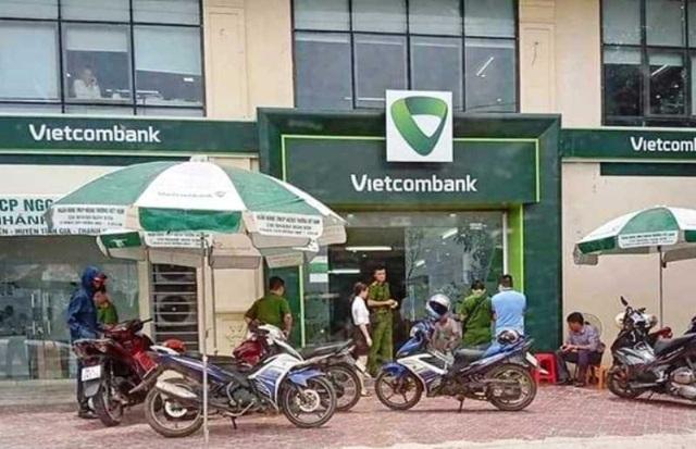 Thông tin chính thức vụ cán bộ công an nổ súng tại chi nhánh ngân hàng - 1
