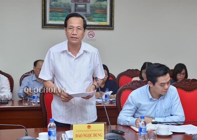 Bộ trưởng Đào Ngọc Dung: Không có chuyện vỡ quỹ bảo hiểm xã hội - 1