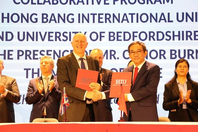 Nhiều trường ĐH Việt Nam ký kết hợp tác với giáo dục Anh quốc - 2
