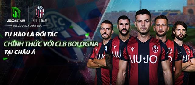 JBO Vietnam ký kết hợp đồng đối tác châu Á cùng CLB Ý Bologna F.C. 1909 - 1