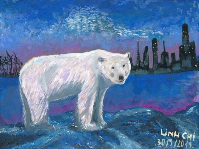 Hà Nội: Học sinh phổ thông vẽ tranh bảo vệ môi trường - 1