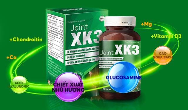 Sự thật về hoạt chất XK3 giúp làm giảm viêm khớp nhanh chóng - 3