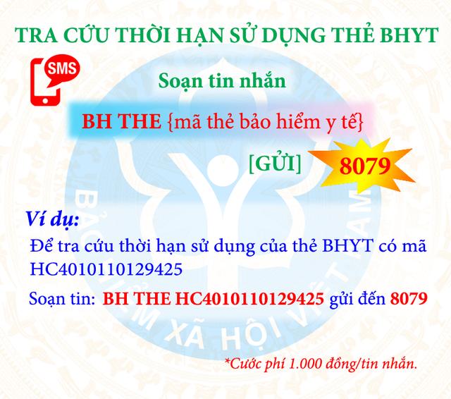 Tra cứu thông tin đóng - hưởng BHXH, BHYT theo đầu số nào? - 4