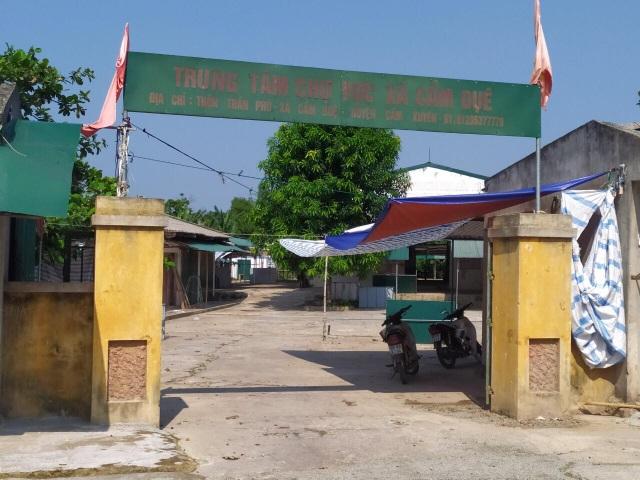 HTX thương mại và dịch vụ chợ Vực.