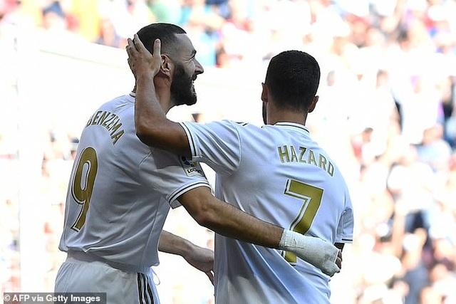 Hazard lập công, Real Madrid tiếp tục dẫn đầu La Liga - 2