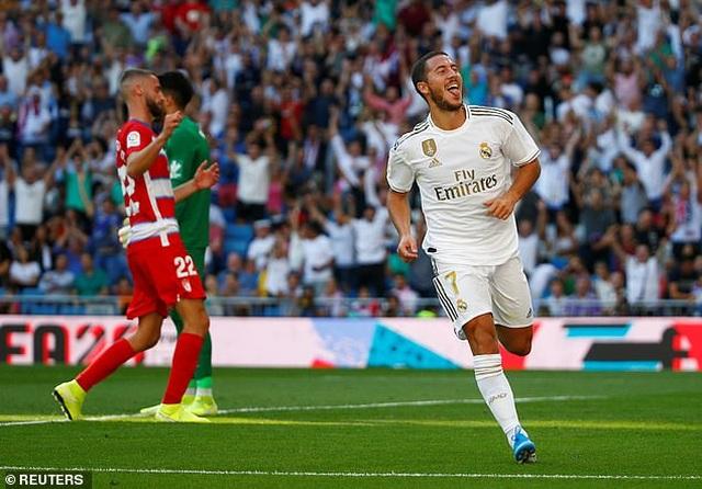 Hazard lập công, Real Madrid tiếp tục dẫn đầu La Liga - 4