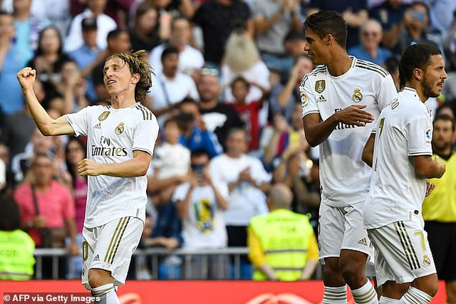Hazard lập công, Real Madrid tiếp tục dẫn đầu La Liga - 5