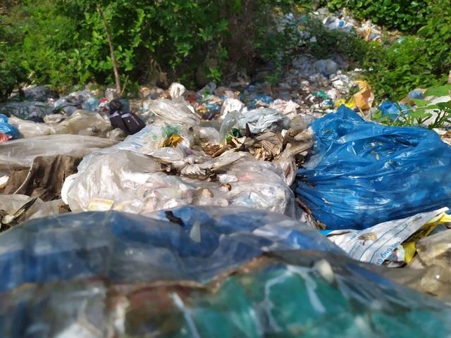 HTX đổ rác ra sông suốt 4 năm, chính quyền xã... không hay biết? - 4