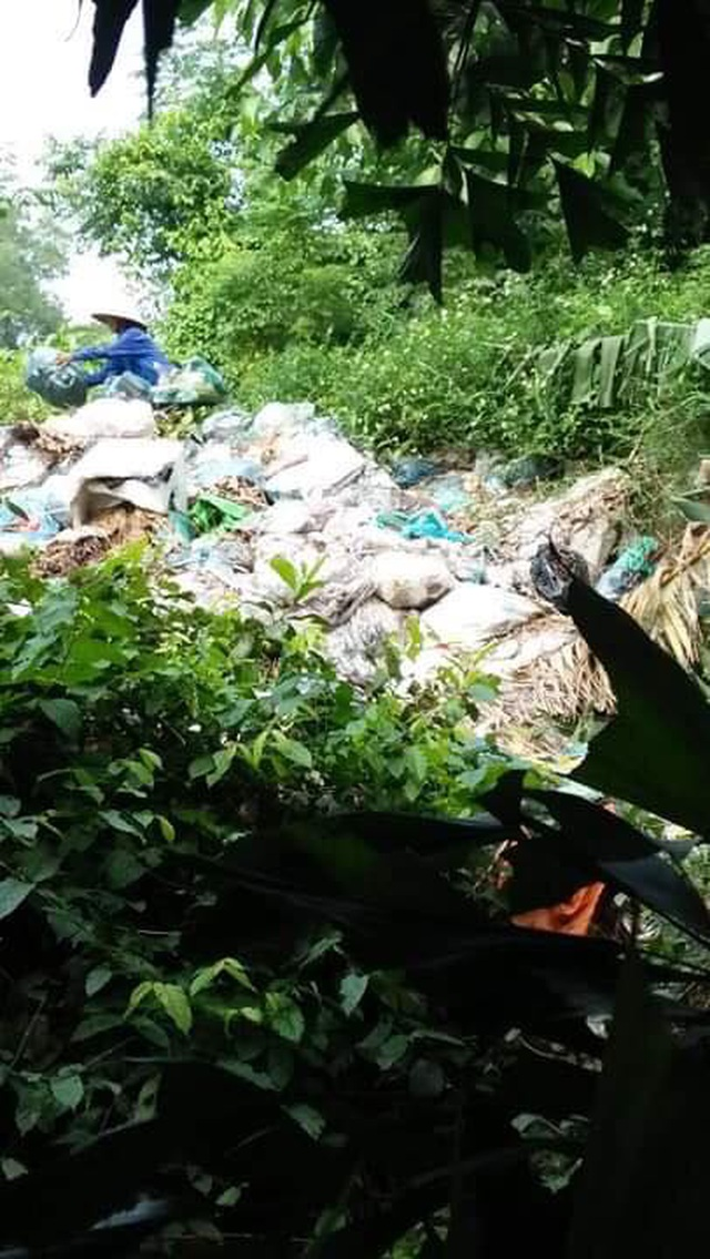 HTX đổ rác ra sông suốt 4 năm, chính quyền xã... không hay biết? - 6