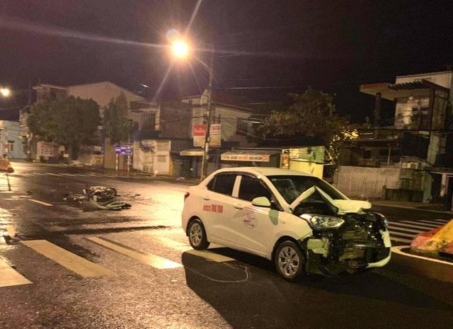 Trung úy công an tử vong sau cú va chạm mạnh với ô tô - 1