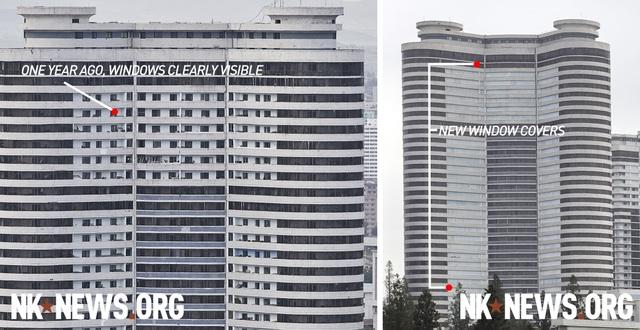 Vì sao Triều Tiên bất ngờ bịt kín cửa sổ cao ốc ở Bình Nhưỡng? - 2