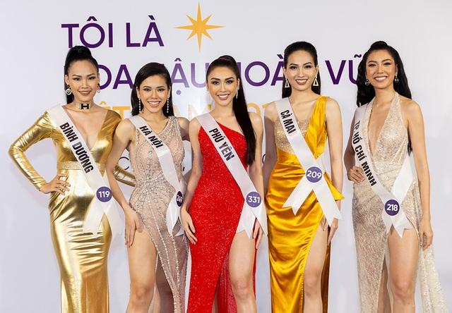 Thanh Hằng, Hoàng Thùy nổi bật hơn top 60 thí sinh Hoa hậu Hoàn vũ - 11