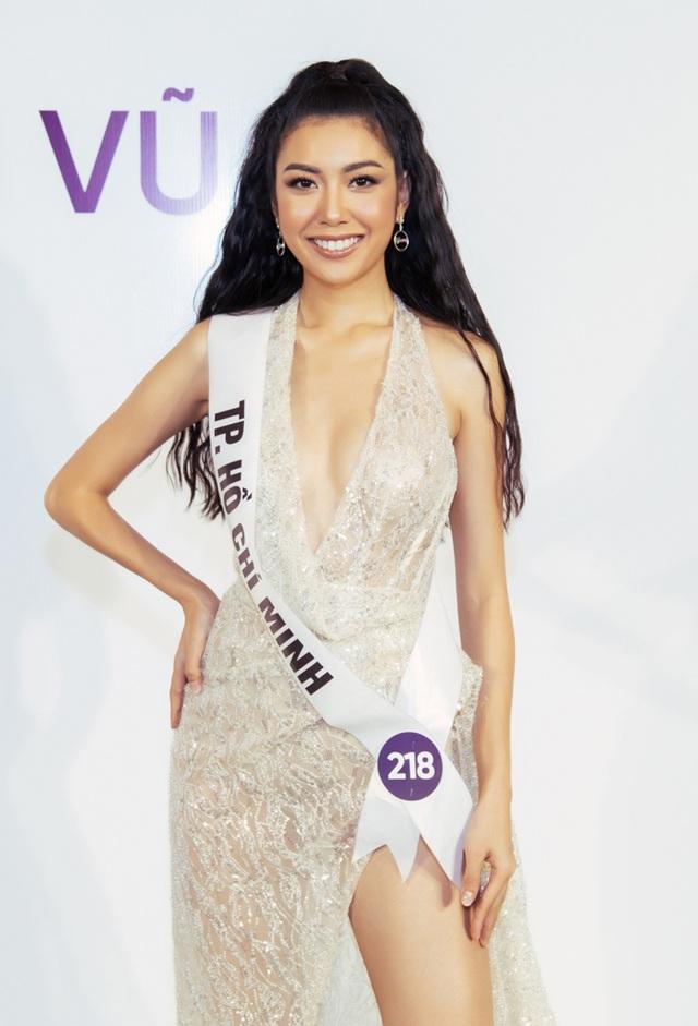 Thanh Hằng, Hoàng Thùy nổi bật hơn top 60 thí sinh Hoa hậu Hoàn vũ - 10