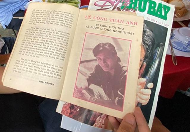 Quyền Linh, Phước Sang, Lê Tuấn Anh thăm mộ Lê Công Tuấn Anh - 6