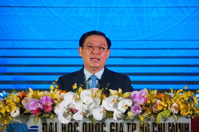 Phó Thủ tướng Vương Đình Huệ: Chinh phục đại học không phải để thấy mình cao mà là để nhìn xa, rộng hơn - 1