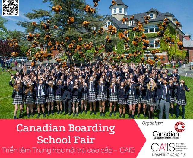 Triển lãm Hệ thống trường trung học nội trú cao cấp tại Canada (CAIS) - 2