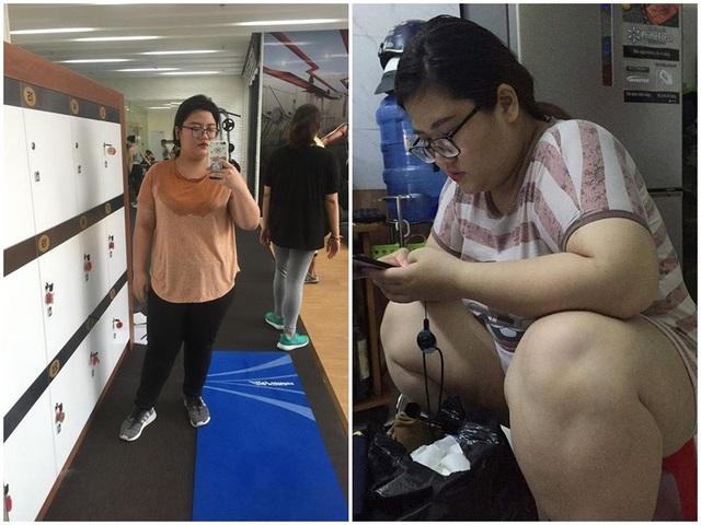 Từ 107kg, cô gái giảm tới 40kg để trở nên xinh đẹp - 1
