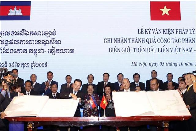 Bước tiến mới trong giải quyết hòa bình đường biên giới lãnh thổ Việt Nam - Campuchia - 3