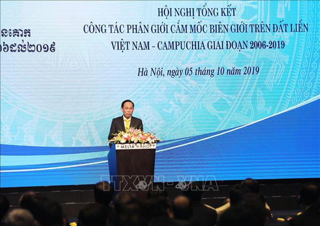 Bước tiến mới trong giải quyết hòa bình đường biên giới lãnh thổ Việt Nam - Campuchia - 2